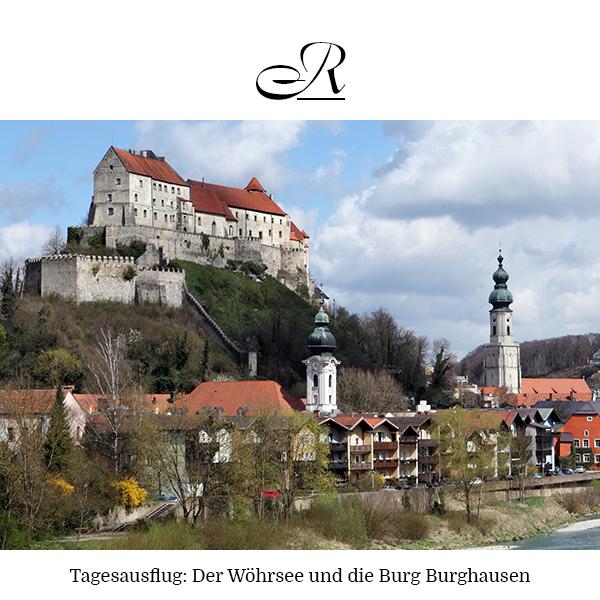 Tagesausflug: Der Wöhrsee und die Burg Burghausen